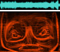 The Aphex Twin Spectrogram Face
